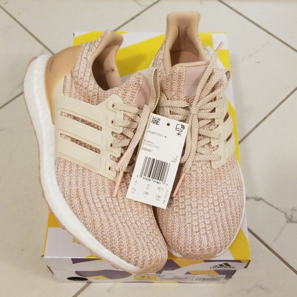superior quality 4beb8 5052f NWT Caged Ultraboosts Adidas Womens size 7.5